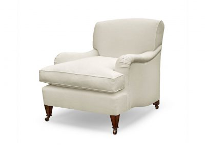Divided back chair