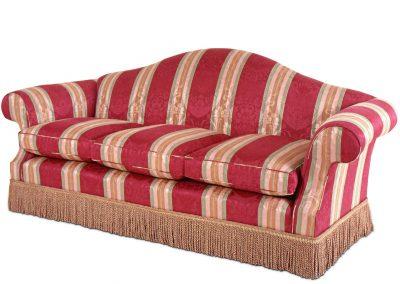 Large serpentine sofa